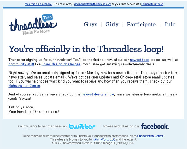 welcome-threadless