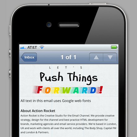 Web Fonts in Email -