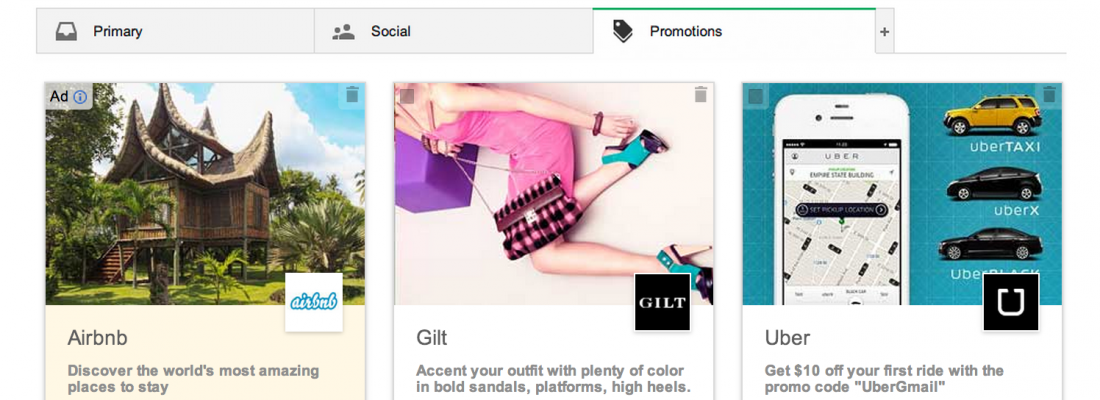 Gmail introduces a new look, social style, Promotions tab