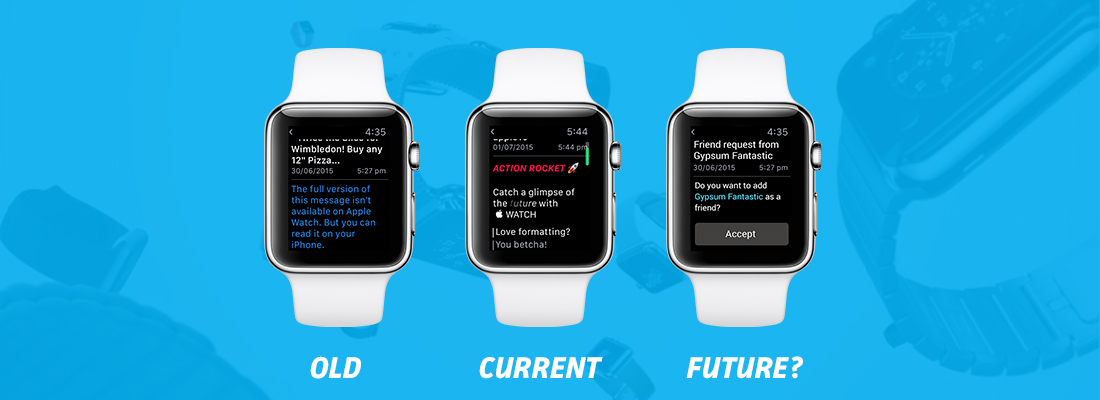 The future of the Apple Watch