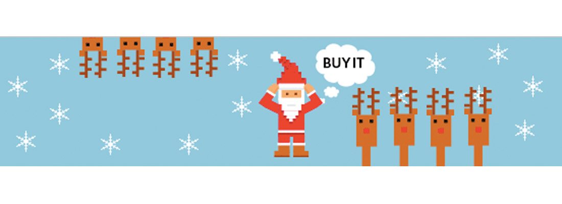 Save Santa! New Look's Pixelated GIF Christmas Campaign