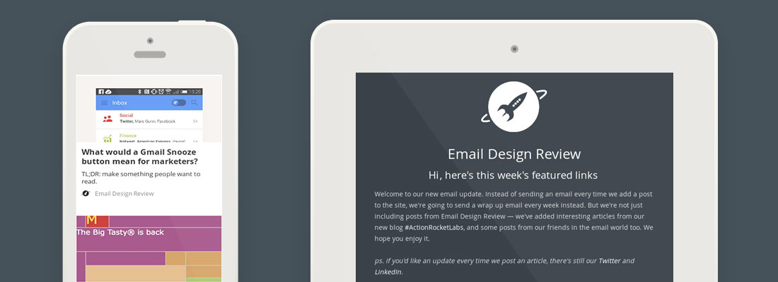 How we made the #emailweekly newsletter