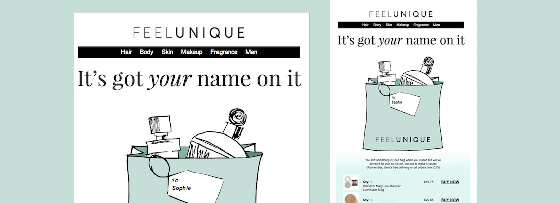 Sophie's Top email designs for January