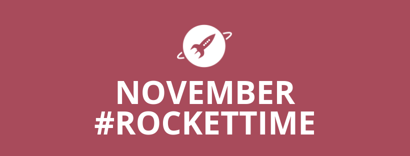 November #RocketTime
